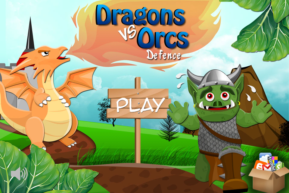 Screenshot Dragons Vs Orcs Defence
