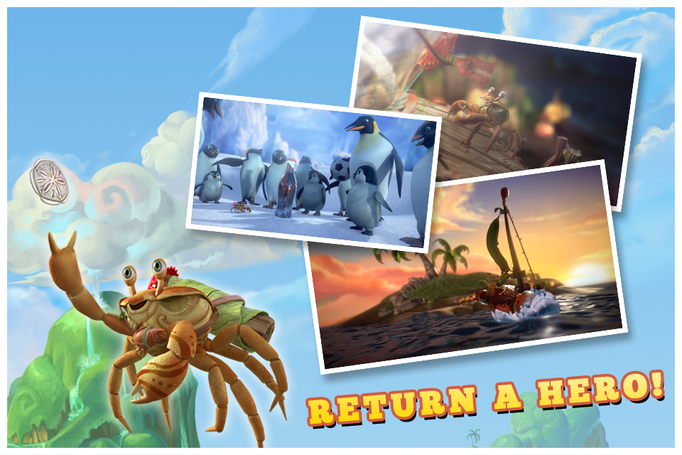 Screenshot Crabs and Penguins